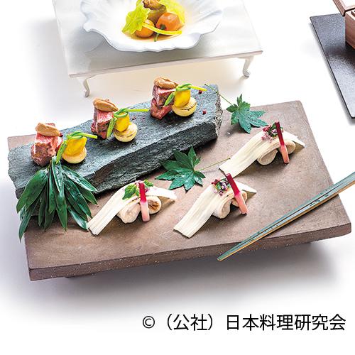魳・独活金平滝川焼、和牛ステーキ