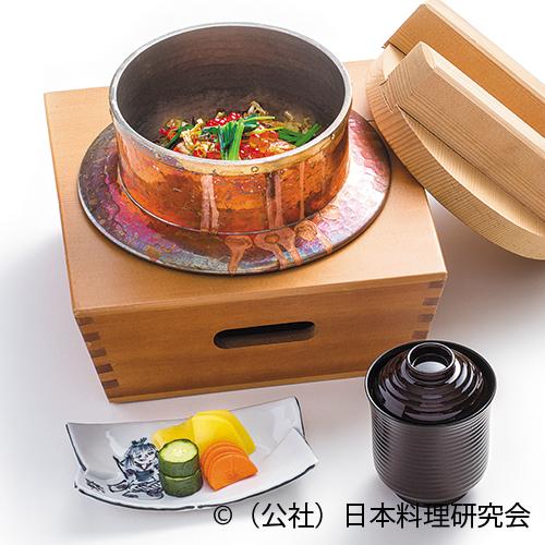 焼鮭・焼舞茸釜飯