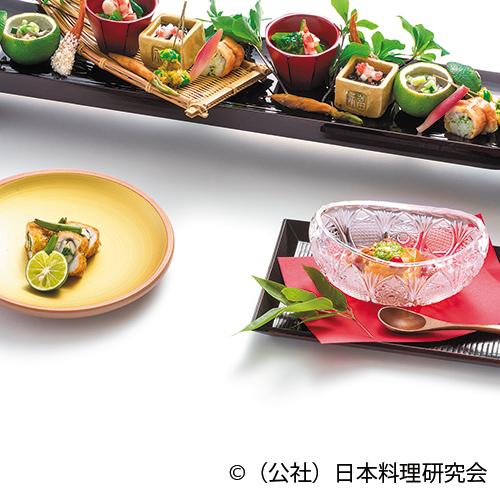 トマト胡麻豆乳豆腐、名残鱧難波フライ