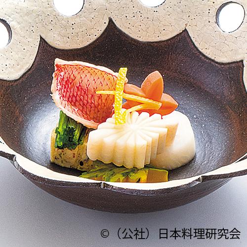 南関揚穴子博多、鰤大根、南瓜、京壬生菜
