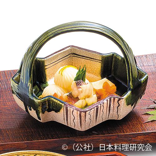 菊花蕪含め煮、甘鯛揚煮