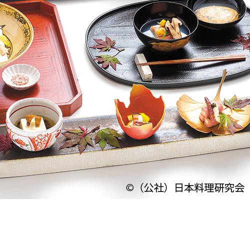 胡麻豆腐、松坂豚塩麹ハム、西京白和え