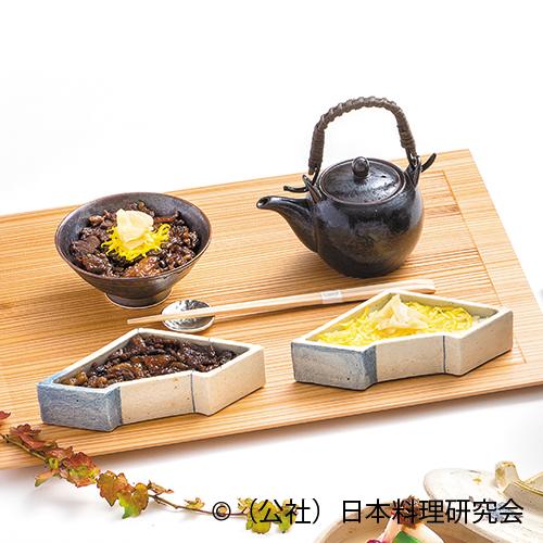 牛しぐれ煮出汁茶漬