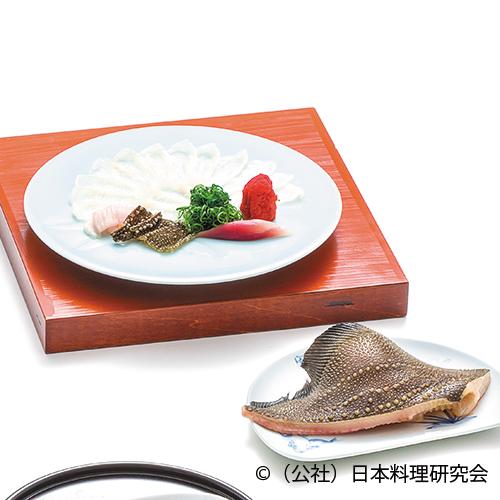 鮫鰈薄作り