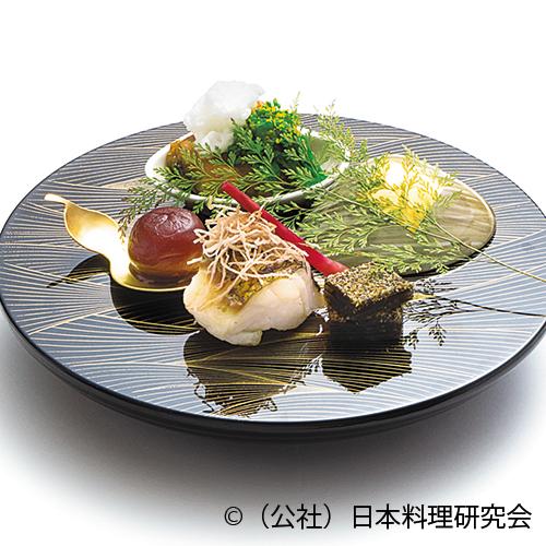 鱈昆布〆焼、蛤黄身醤油焼