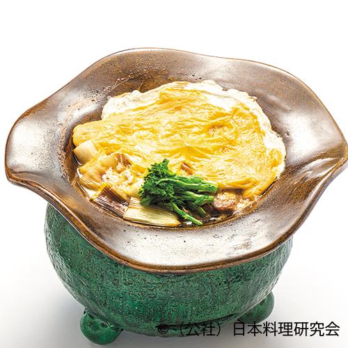 変わり葱鮪鍋