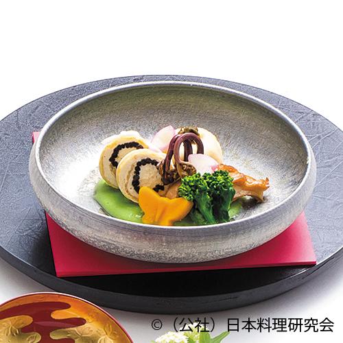 里芋蕗味噌饅頭、鹿尾菜信田巻