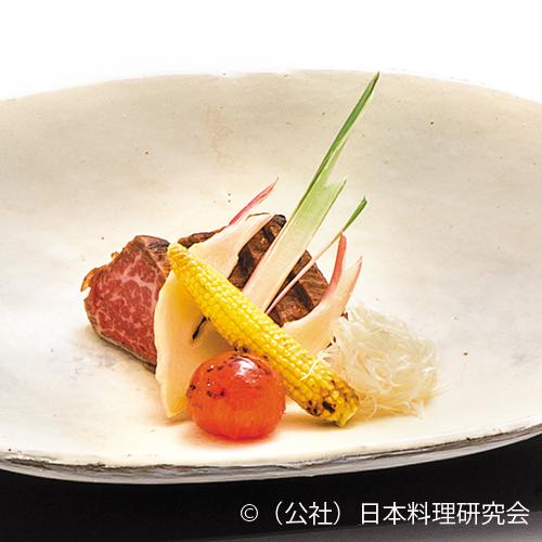 牛肉味噌幽庵焼
