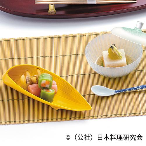 雲丹養老豆腐、太刀魚水晶巻