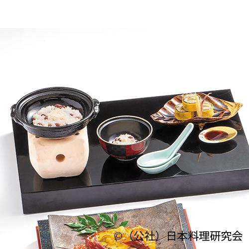 蕎麦寿司、小豆リゾット
