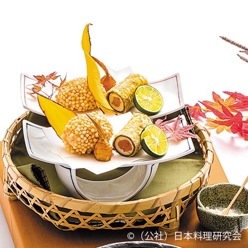 海老糝薯饅頭香煎揚