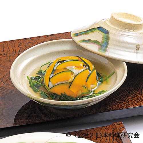 南瓜・海老糝薯饅頭