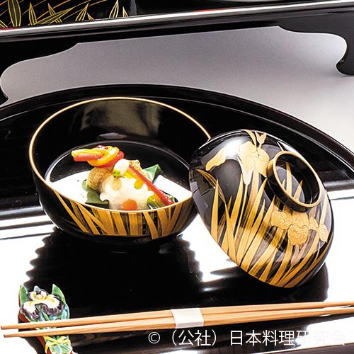 皐月豆腐、鱚焼目