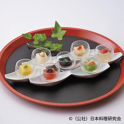 白アスパラ豆腐、トマト豆腐、蓴菜豆腐、唐黍豆腐、ピース豆腐、山芋豆腐、黒人参豆腐