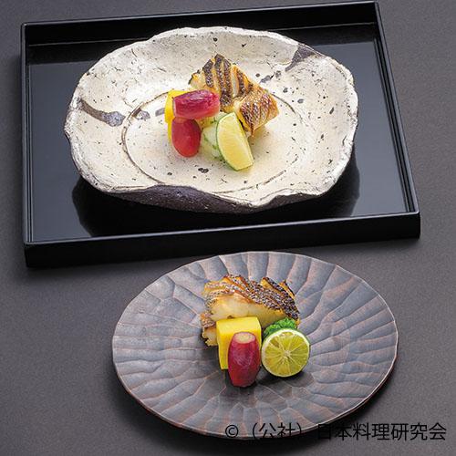 鱸油焼、鱸バター醤油焼